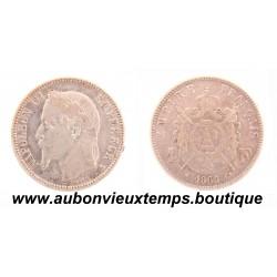 FRANC ARGENT 1868 A NAPOLEON III