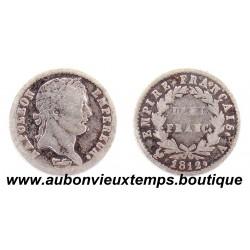 DEMI FRANC ARGENT 1812 A NAPOLEON 1er