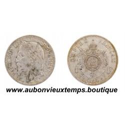 FRANC ARGENT 1866 A NAPOLEON III
