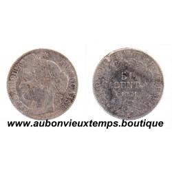 50 CENTIMES ARGENT 1871 K CERES