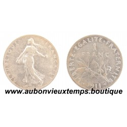FRANC ARGENT 1911 SEMEUSE