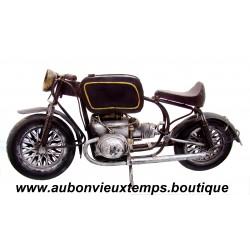 ANCIENNE MOTO BMW en METAL - ECH env : 1/7