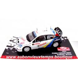 IXO 1/43 FORD FOCUS WRC - RALLYE MONTE CARLO 2004