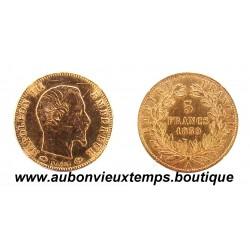 5 FRANCS OR 1859 A NAPOLEON III