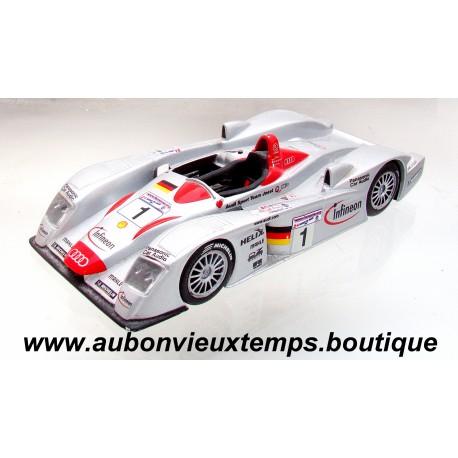 IXO 1/43 AUDI R8 - 24H DU MANS 2001