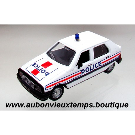 NOREV 1/43 CITROEN VISA - POLICE 1982