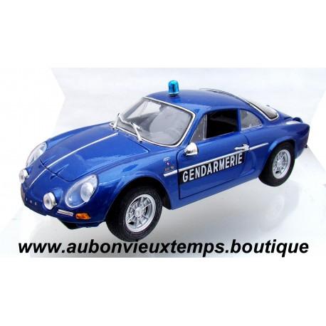 MAISTO 1/18 ALPINE RENAULT 1600 S - GENDARMERIE 1971