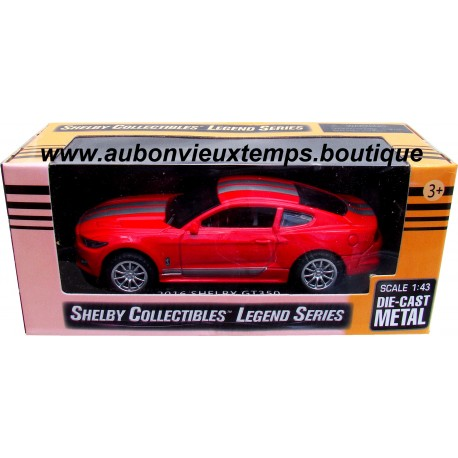 SHELBY COLLECTIBLES 1/43 FORD MUSTANG SHELBY GT 350 - LEGEND SERIES