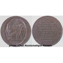 5 SOLS MONNERON 1792 PACTE FEDERATIF - BRONZE