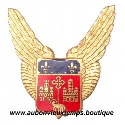INSIGNE  EMAIL - INSIGNE métallique du BA 101 BASE AERIENNE FRANCAZAL