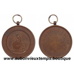 MEDAILLE BRONZE LIEGE CYCLISTS UNION 21.09.1890