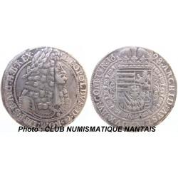 THALER LEOPOLD 1er 1698 Hall Mint - AUTRICHE - ARGENT