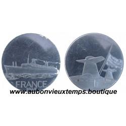 MEDAILLE CIE GLE TRANSATLANTIQUE FRANCE  1962