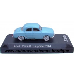 SOLIDO 1/43 REF : 4541 RENAULT DAUPHINE 1961