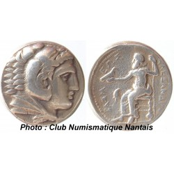 TETRADRACHME 336-323 AV JC - ALEXANDRE LE GRAND