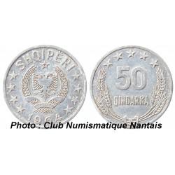 50 QINDARKA 1964 - ALU -ALBANIE