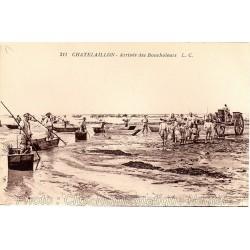 ARRIVEE DES BOUCHELEURS - CHATELAILLON 17
