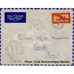 ENVELOPPE - FORCES NAVALES - COCHINCHINE 1939