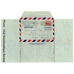 LETTRE PAR AVION - PHILADELPHIE USA - 1951