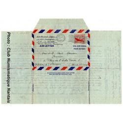 LETTRE PAR AVION - PHILADELPHIE USA - JUIN 1951