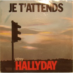 45T JE T'ATTENDS - PHILIPS 888 1797 - NOVEMBRE 1986 - JOHNNY HALLYDAY