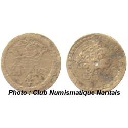 POIDS MONETAIRE FRANC - HENRI III - XI DENIERS ET 1 GRAIN