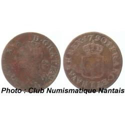 LIARD LOUIS XVI 1790 T - NANTES