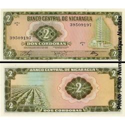 2 CORDOBAS - NICARAGUA