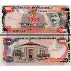 5000 CORDOBAS - NICARAGUA