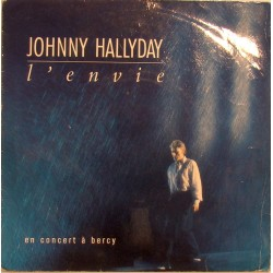 45T L'ENVIE - PHILIPS 870 170-7 - JANVIER 1988 - JOHNNY HALLYDAY