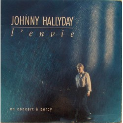 45T L'ENVIE - PHILIPS 870 170-7 - JANVIER 1988 - JOHNNY HALLYDAY