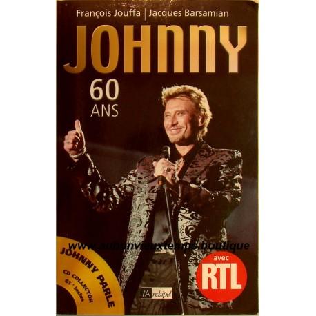Livre Johnny Hallyday 60 Ans Novembre 2002