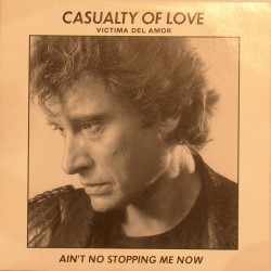 CD N° 112   CASUALTY OF LOVE - PHILIPS  - 1984 - JOHNNY HALLYDAY