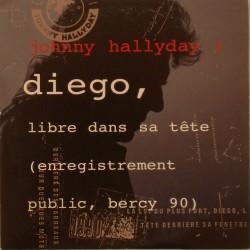 CD N° 222   DIEGO LIBRE DANS SA TETE - PHILIPS  - MARS 1991 - JOHNNY HALLYDAY