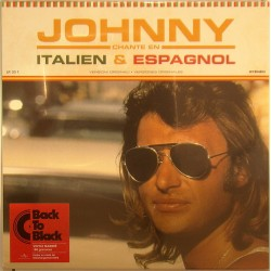 LP 33T  JOHNNY CHANTE EN ITALIEN et ESPAGNOL - MERCURY  - 2005 - JOHNNY HALLYDAY