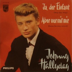 CD N° 87   JA DER ELEFANT  - PHILIPS 372 964 - FEVRIER 1962 - JOHNNY HALLYDAY