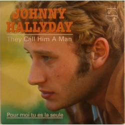 CD N° 97   THEY CALL HIM A MAN - PHILIPS - 1965 - JOHNNY HALLYDAY