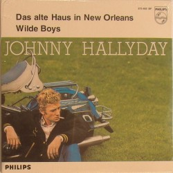 CD N° 95   DAS ALTE HAUS IN NEW ORLEANS - PHILIPS 373 465 - 1964 - JOHNNY HALLYDAY
