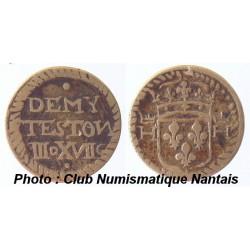 POIDS MONETAIRE - HENRI III A LOUIS XIV - III DENIERS ET XVII GRAINS