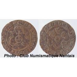 """JETON Nürnberg Rechenpfennig Apfelpfennig 1500 - 1600 """"Reichsapfel"""" HANS KRAUWINCKEL  1586 - 1635"""