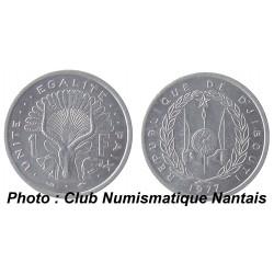5 FRANCS 1977 - DJIBOUTI