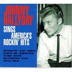 CD  SINGS AMERICA'S ROCKIN' HITS - JOHNNY HALLYDAY
