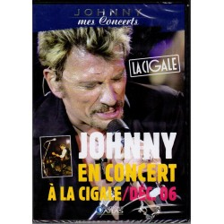 DVD  JOHNNY HALLYDAY  LA CIGALE DECEMBRE 2006 - WARNER MUSIC   11 TITRES