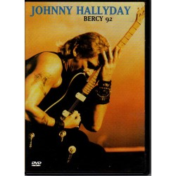 DVD  JOHNNY  HALLYDAY  - BERCY - 1992   24 TITRES