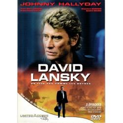DVD   JOHNNY  HALLYDAY - DAVID LANSKY - LIMITED ACCES  2003   3 TITRES
