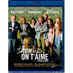 BLU RAY   JOHNNY  HALLYDAY  - SALAUD ON T'AIME   2014