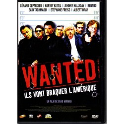 DVD  JOHNNY HALLYDAY - WANTED   2002