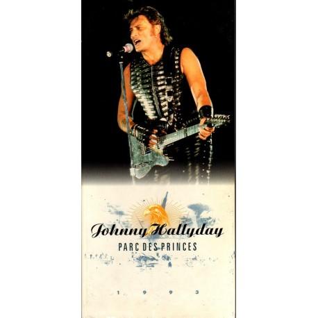 COFFRET 3 CD  JOHNNY HALLYDAY - PARC DES PRINCES  36 TITRES   LAURA 1993