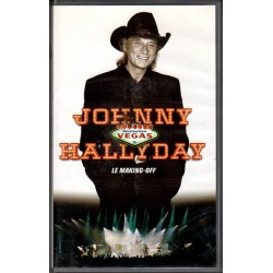 VHS  JOHNNY HALLYDAY - DESTINATION VEGAS - LE MAKING OFF   POLYGRAM  1996