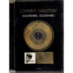 CD  EDITION LIMITEE OR  JOHNNY  HALLYDAY  - SOUVENIRS SOUVENIRS  SONY BMG 2006   24 TITRES